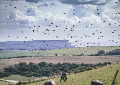 Iford Downs – Partridge Shooting – Sussex